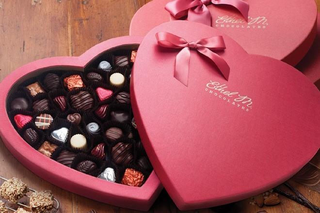 Quà tặng ngày Lễ tình nhân chocolate