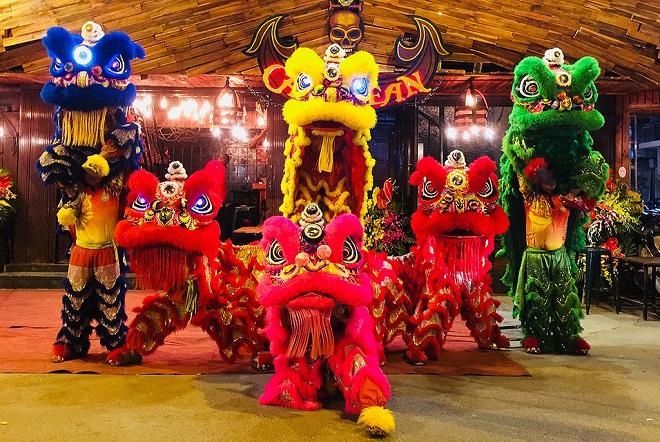 Múa lân ngày Tết có nguồn gốc từ Trung Hoa
