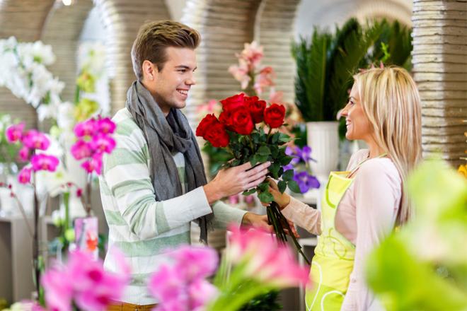 Hoa tặng ngày Lễ tình nhân mua hoa