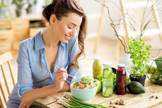 Giảm cân sau Tết ăn chậm