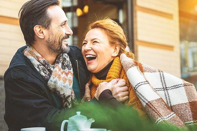 Vợ chồng trung niên