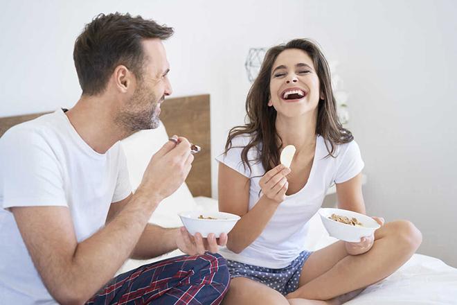 Cặp đôi hạnh phúc