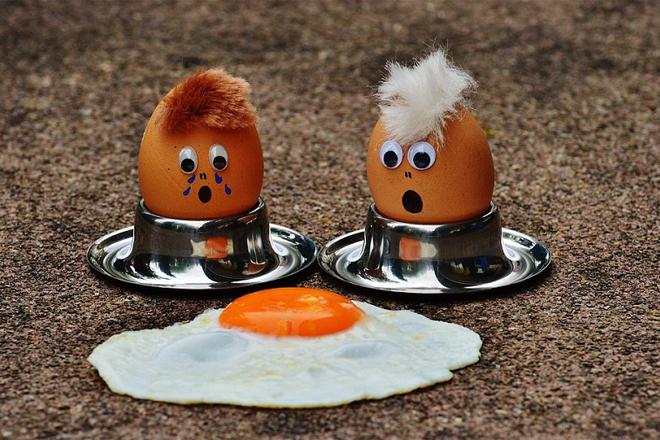 Tác dụng của trứng gà dưới sapo