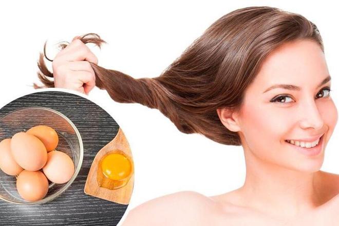 Tác dụng của trứng gà với tóc