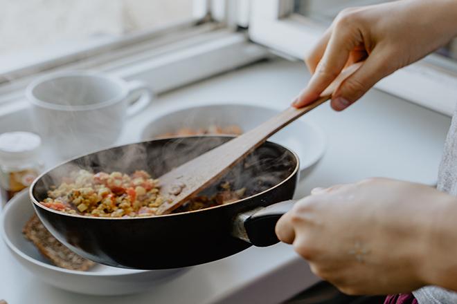 Nấu đồ ăn