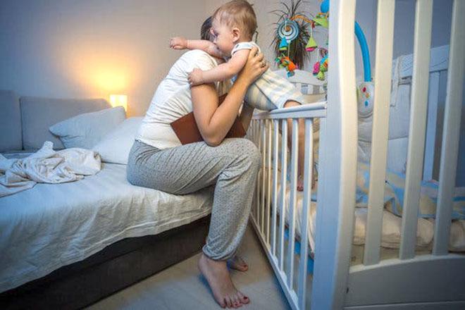 Bé ngủ không ngon