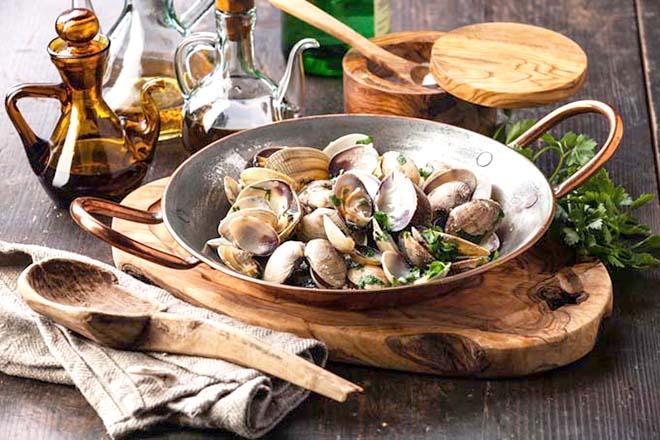 Hải sản nấu chín