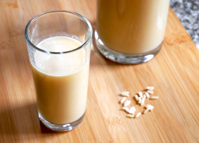 Sữa gạo lứt lỏng