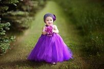 Loạt ảnh bố Việt chụp bé gái 19 tháng tuổi đẹp như công chúa
