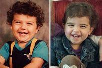 13 bức ảnh cha mẹ và con giống nhau đến kinh ngạc