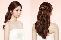Gợi ý 7 kiểu tóc đẹp cho cô dâu có gương mặt tròn