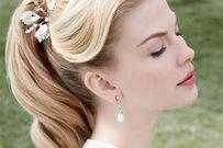 7 kiểu tóc đẹp hoàn hảo cho cô dâu có gương mặt vuông, góc cạnh