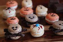 Cách làm bánh macarons nhện yêu xinh xắn cho bé vui đêm Halloween