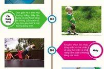Những bài tập vận động giúp trẻ từ 1-3 tuổi thông minh, khỏe mạnh