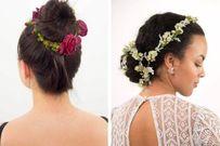 Cách làm 5 kiểu vòng hoa đội đầu lãng mạn cho cô dâu trong mùa đông