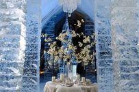 20 kiểu trang trí tiệc cưới mùa đông cực chất