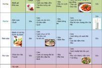 Gợi ý thực đơn tuần giúp bé tăng chiều cao tối ưu