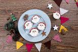 làm bánh cupcake ông già Noel
