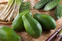 Ăn đu đủ xanh có nguy cơ sẩy thai
