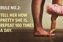 15 quy tắc các ông bố có con gái nên thuộc lòng