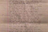 Xúc động lá thư bé gái đã qua đời viết gửi cho chính mình năm 22 tuổi