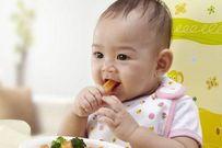 Chế độ dinh dưỡng cho bé 8 tháng tuổi