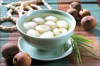 Cách nấu chè long nhãn bọc hạt sen ngọt thanh tốt cho sức khỏe