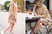 Những kiểu váy bà bầu mùa đông được yêu thích nhất