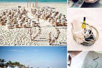 Lên ý tưởng cho đám cưới trên bãi biển những ngày hè rực nắng