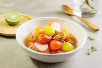Cà chua bi và củ cải đỏ ngâm chua ngọt: Món tráng miệng cực tốt cho làn da