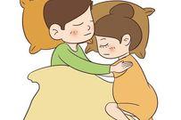 Nhìn tư thế ngủ đoán tình yêu bố dành cho mẹ bầu