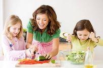 4 cách dạy con học toán từ nấu ăn cực hay