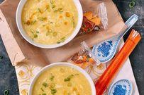 Tuyệt chiêu nấu súp gà sóng sánh không bị vữa nước