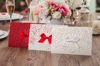 Gợi ý các mẫu thiệp cưới laser tuyệt đẹp cho các cặp đôi lãng mạn