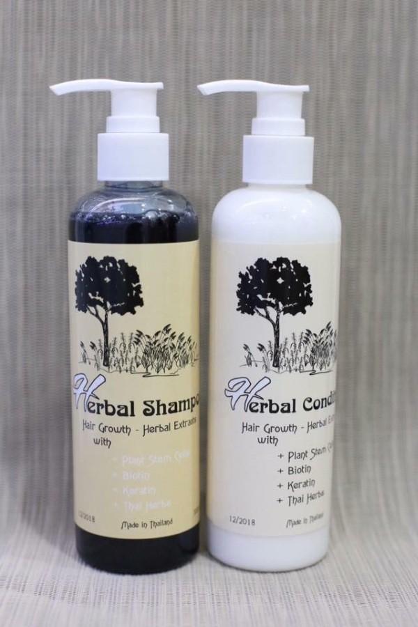 dau goi kich thich moc toc herbal shampoo