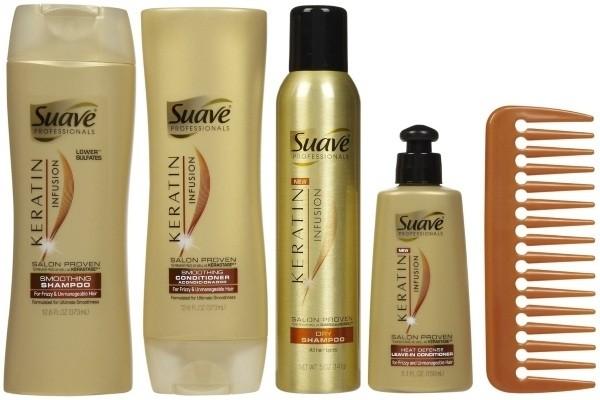 dau goi cho toc dau suave professionals keratin infusion dry shampoo