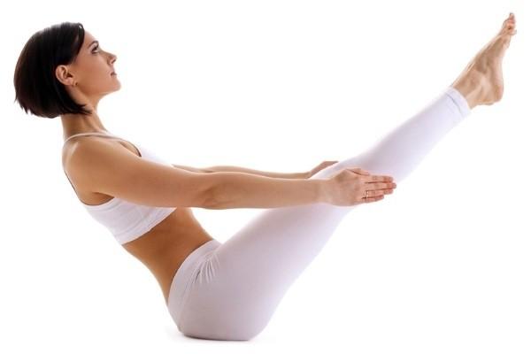 yoga giam mo bung boat