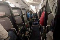 Hành khách buộc phải ngồi cùng xác chết suốt 3 giờ trên máy bay