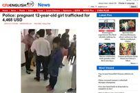 Truy tìm bé gái 12 tuổi mang thai ở Trung Quốc
