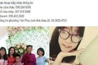 Bé gái 13 tuổi ở Hà Nội mất tích bí ẩn