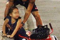 Bé gái ngã bất tỉnh, chảy máu đầu vì đi xe điện tự cân bằng ở Hà Nội
