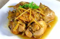 Cách nấu món gà kho gừng ăn hoài không ngán