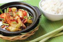 Cách nấu thịt quay kho dưa cải chua chua ngon cơm