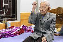 Bắc Ninh: Cụ ông 105 tuổi có bàn chân kỳ lạ