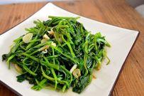 Học cách nấu món rau muống xào chao