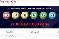 Người trúng hơn 71 tỷ đồng xổ số đã mua vé tại TP. HCM