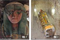 Tìm thấy xác ướp Ai Cập 1.000 tuổi còn nguyên vẹn