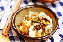 Cách làm món bắp cải muối xổi cực nhanh, ngon giòn hết sảy