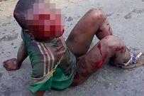 Ăn cắp đồ trong siêu thị, đứa trẻ bị đánh đập dã man rồi thiêu sống đến chết