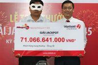 Người trúng hơn 71 tỷ đồng xổ số bất ngờ nhận giải sáng nay